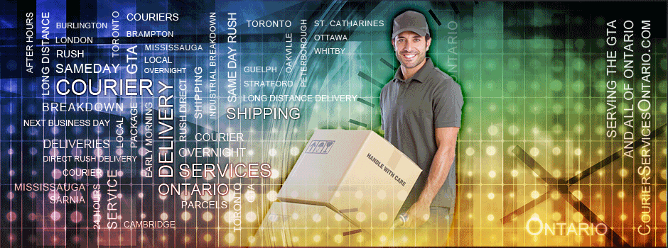 Delivery Service GTA: Overnight courier with early morming and afternoon overnight delivery across the GTA.
