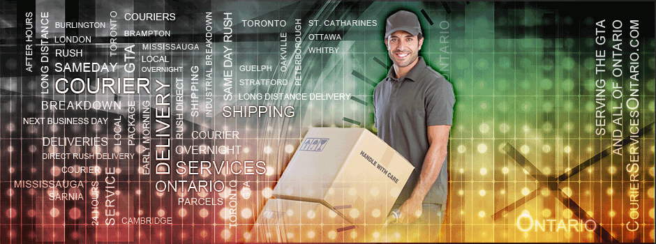 Courier Service GTA: Overnight delivery across the greater Toronto area and throughout Ontario.